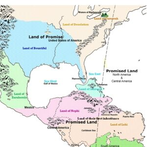 promised land promise map book mormon geography