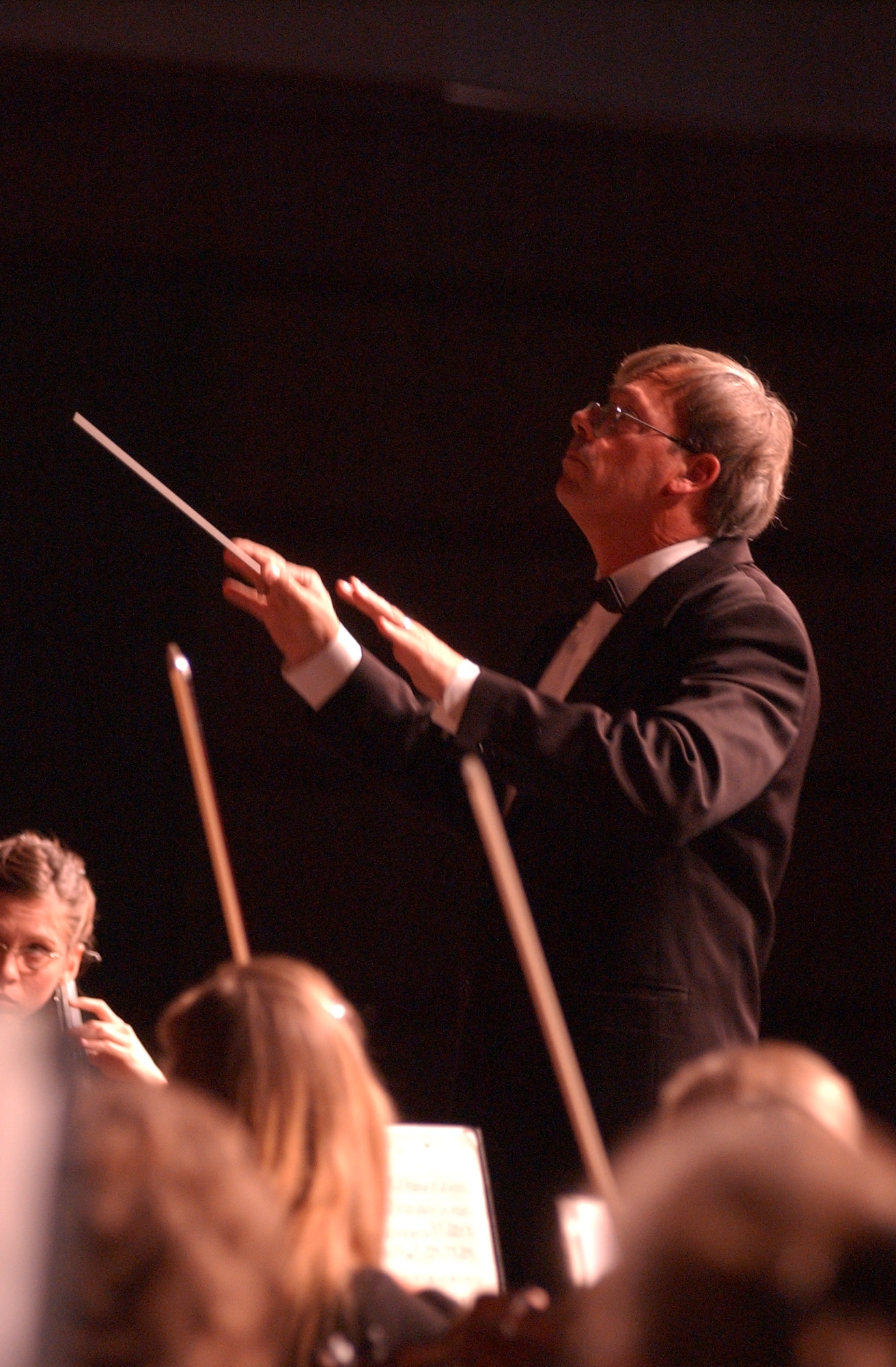 portrait musical, choral, orchestral, band, and piano music orchestra composer conductor