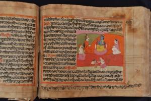 Image of Mahabharata Manuscript