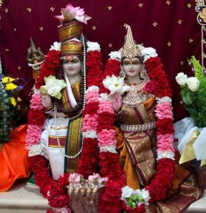 Murtis of Shiva Parvati