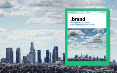 Think global, act local: Geo-targeting & your .brand