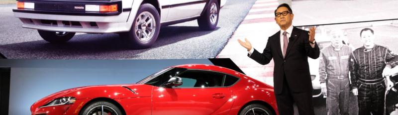 Toyota newsroom dotbrand website