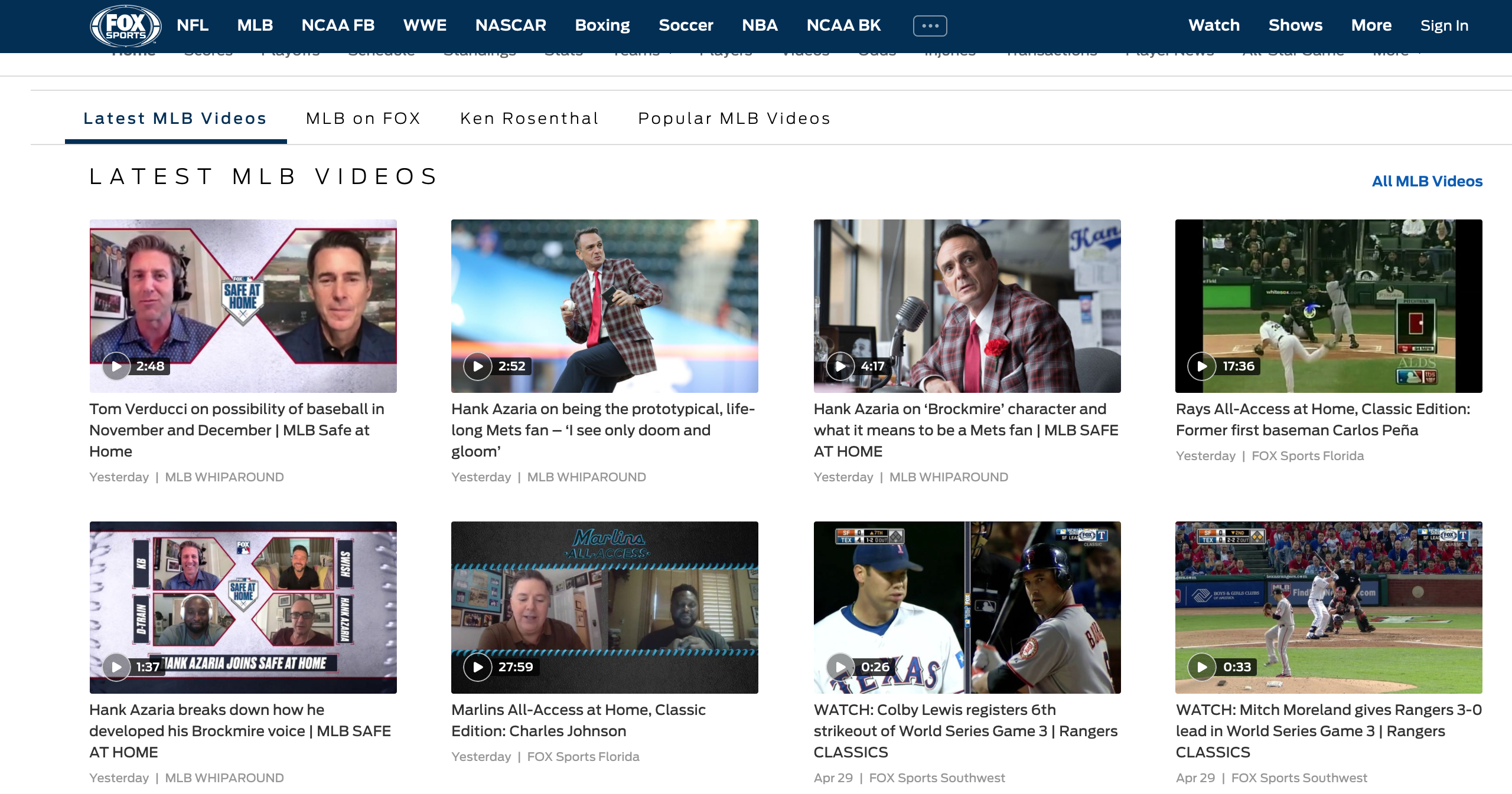 Fox Sports now creating memorable domains to help customers find the content they want