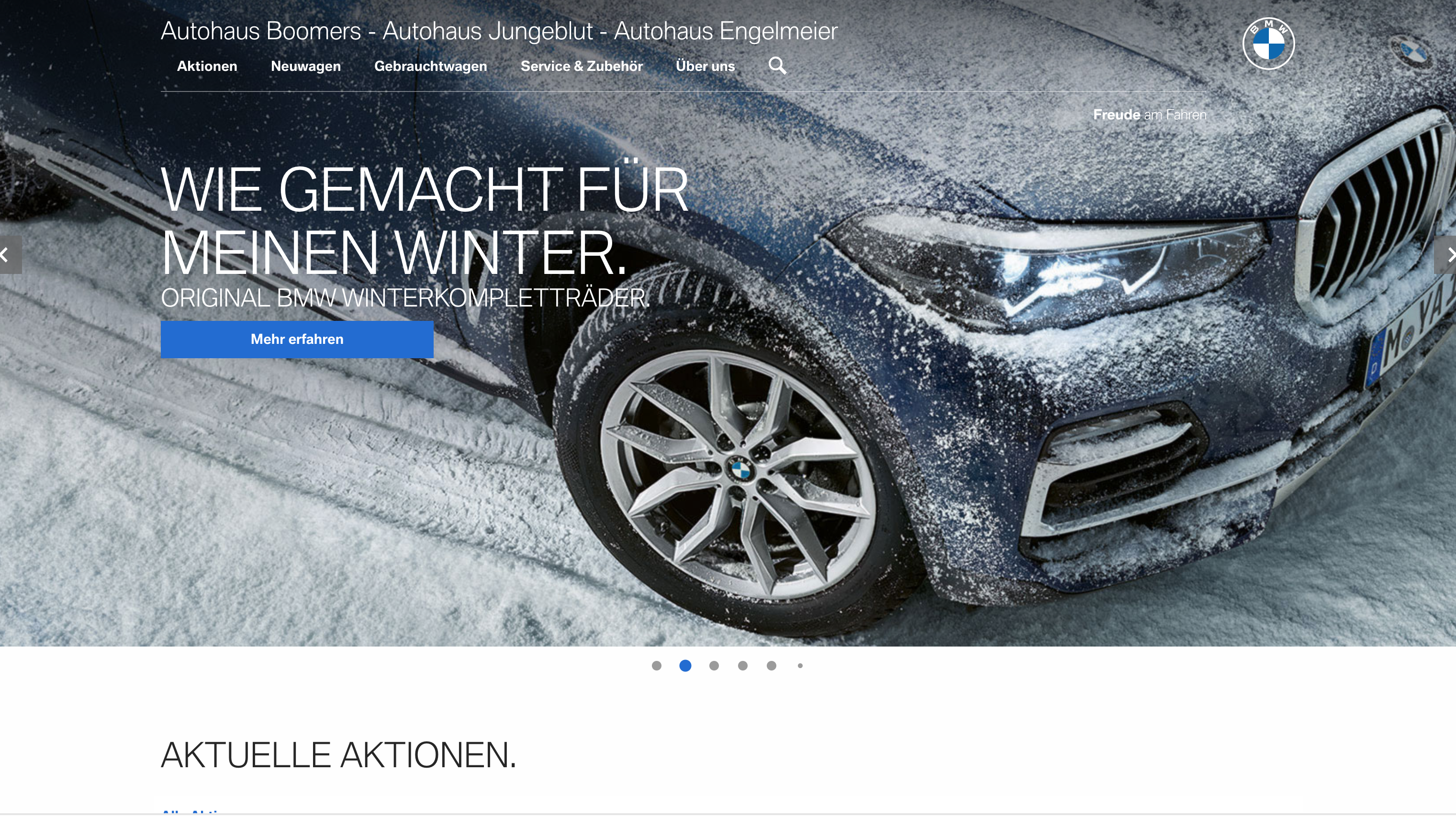 BMW's new branding on show with a German Motorsport microsite