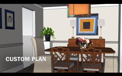 Remote Interior Design Service: Dining Room