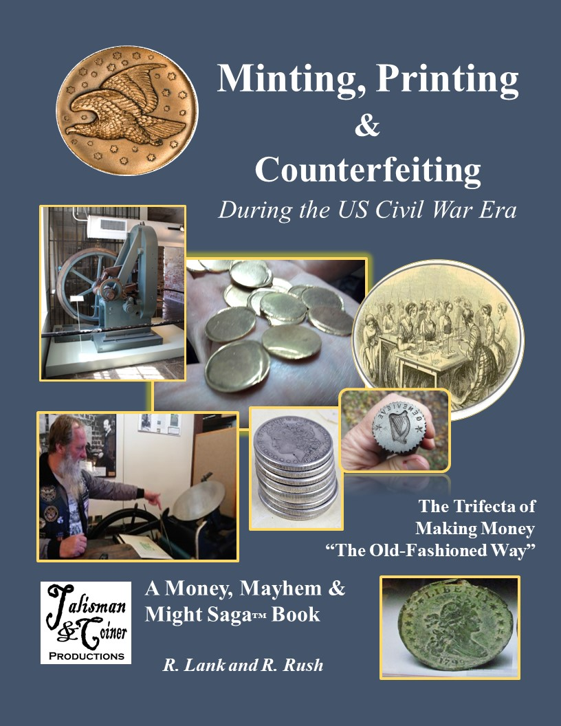 Blue book cover of Minting, Printing and Counterfeiting.jpg