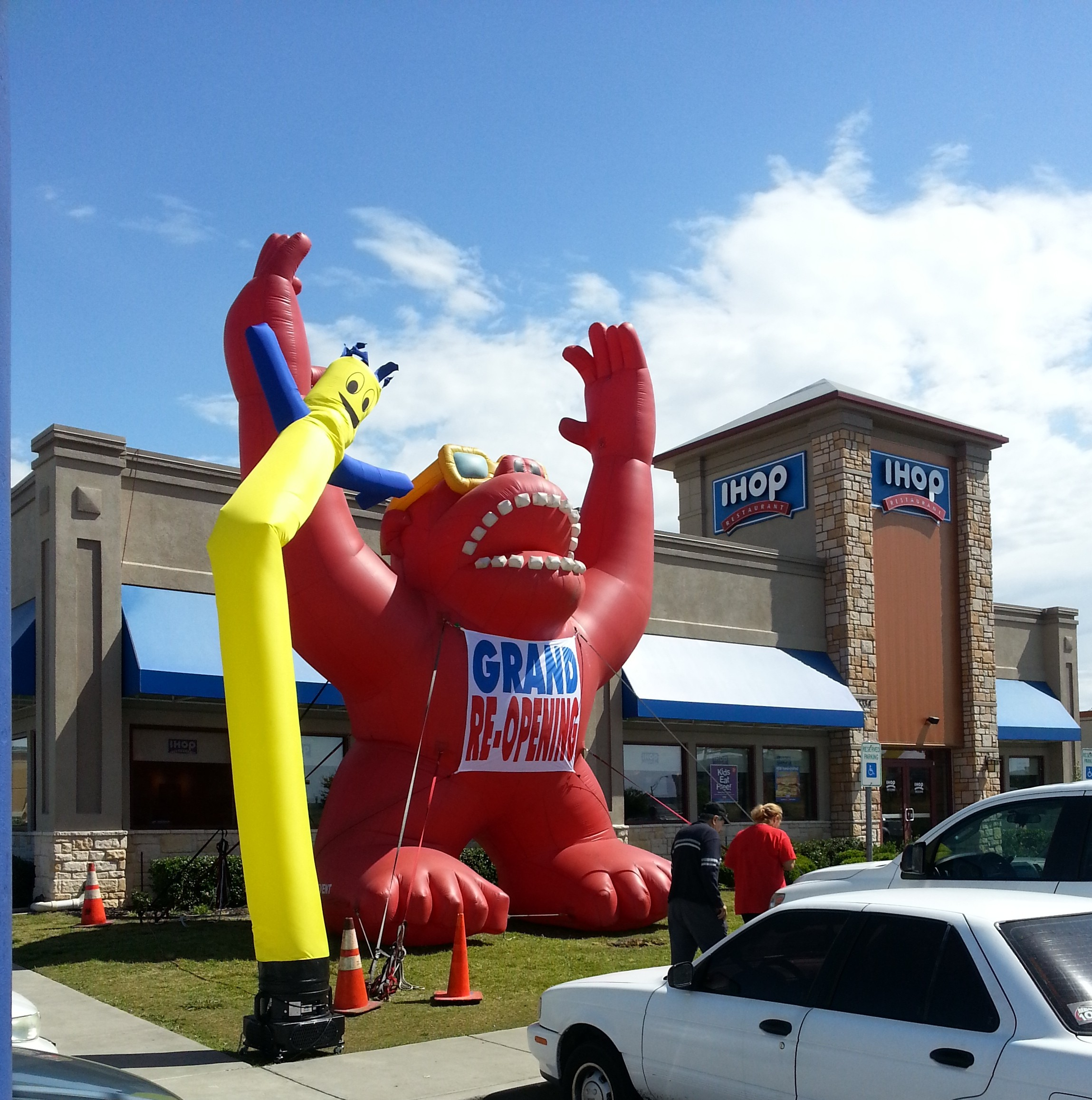 oversized inflatable houston