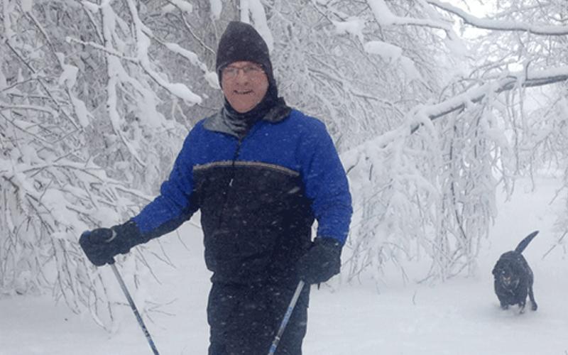 QC ORA surgeon looks forward to snowcover!