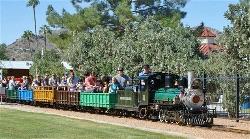 Scottsdale Arizona Stillman Railroad Park