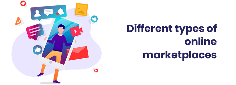Different types of online marketplaces