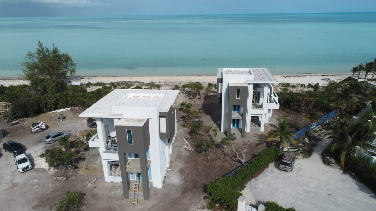 Turquoise Banks Villas 1 & 2 Almost Complete