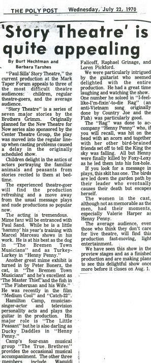 Story Theatre Mark Taper Forum Review0001