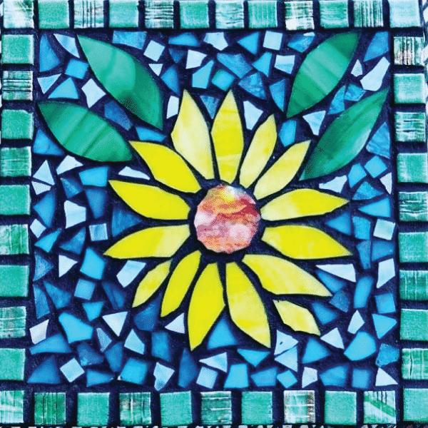 sunflower mosaic kit