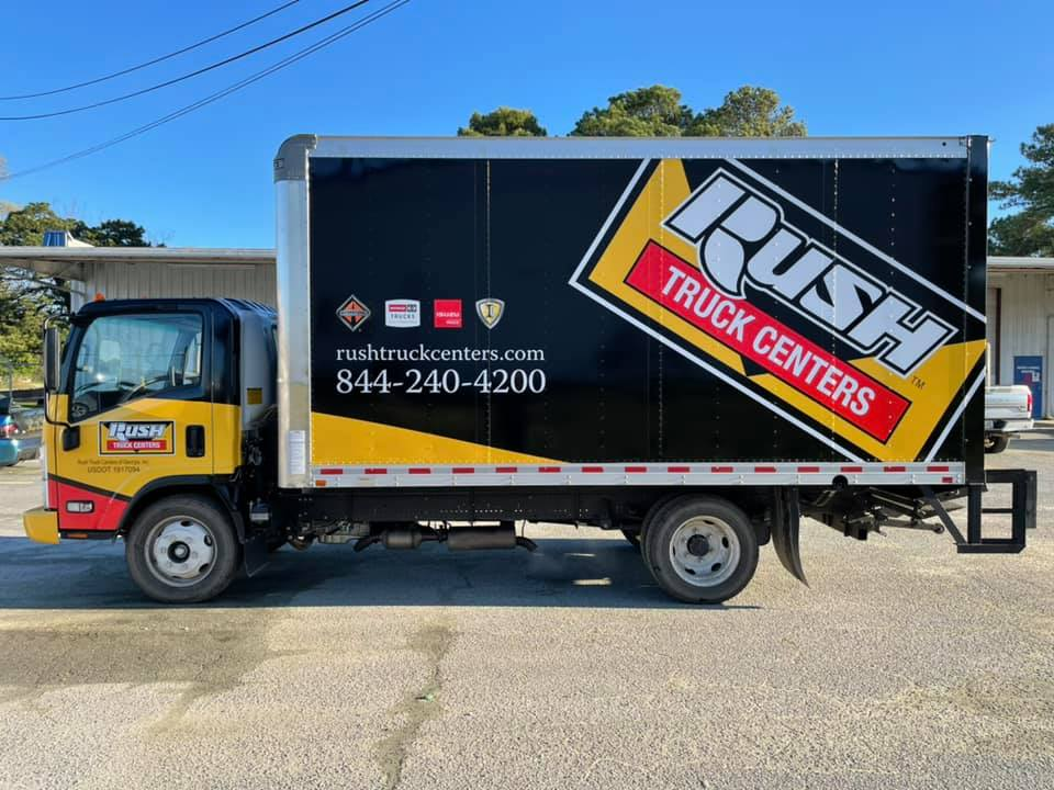 Rush Truck Centers Vehicle Wrap - Sticky Business