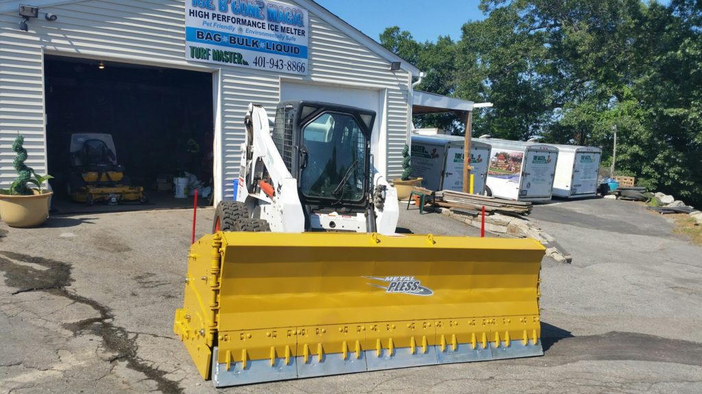 Metal Pless Skidsteer