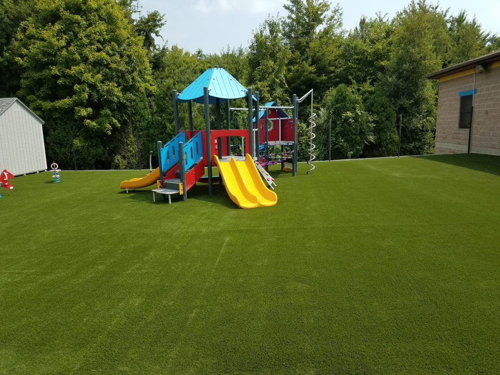 Synthetic Turf Play Area