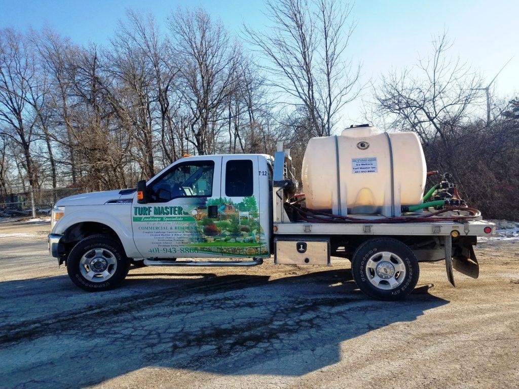 IBG Salt Pile & Load Release Spraying