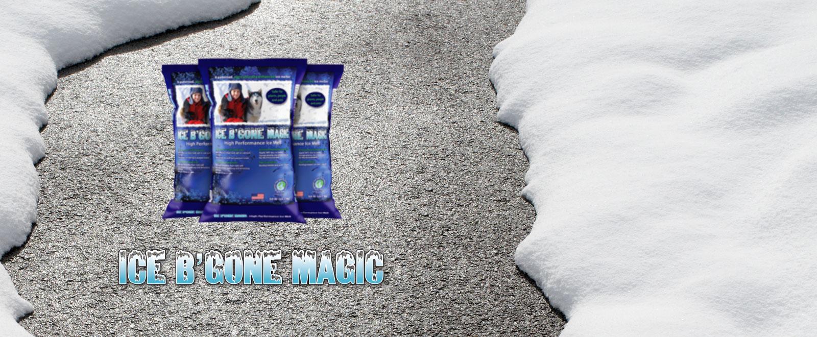 ICE B'GONE Magic High Performance Treated Salt