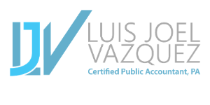 Luis Joel Vazquez CPA PA Logo