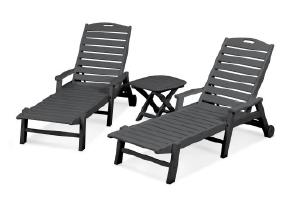 Polywood 3 Piece Chaise Lounge Set