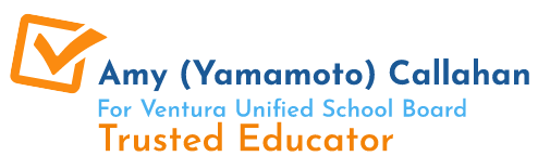 Amy Yamamoto Callahan for Ventura Unified School District Area 3
