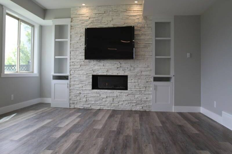Kelowna basement living room renovation