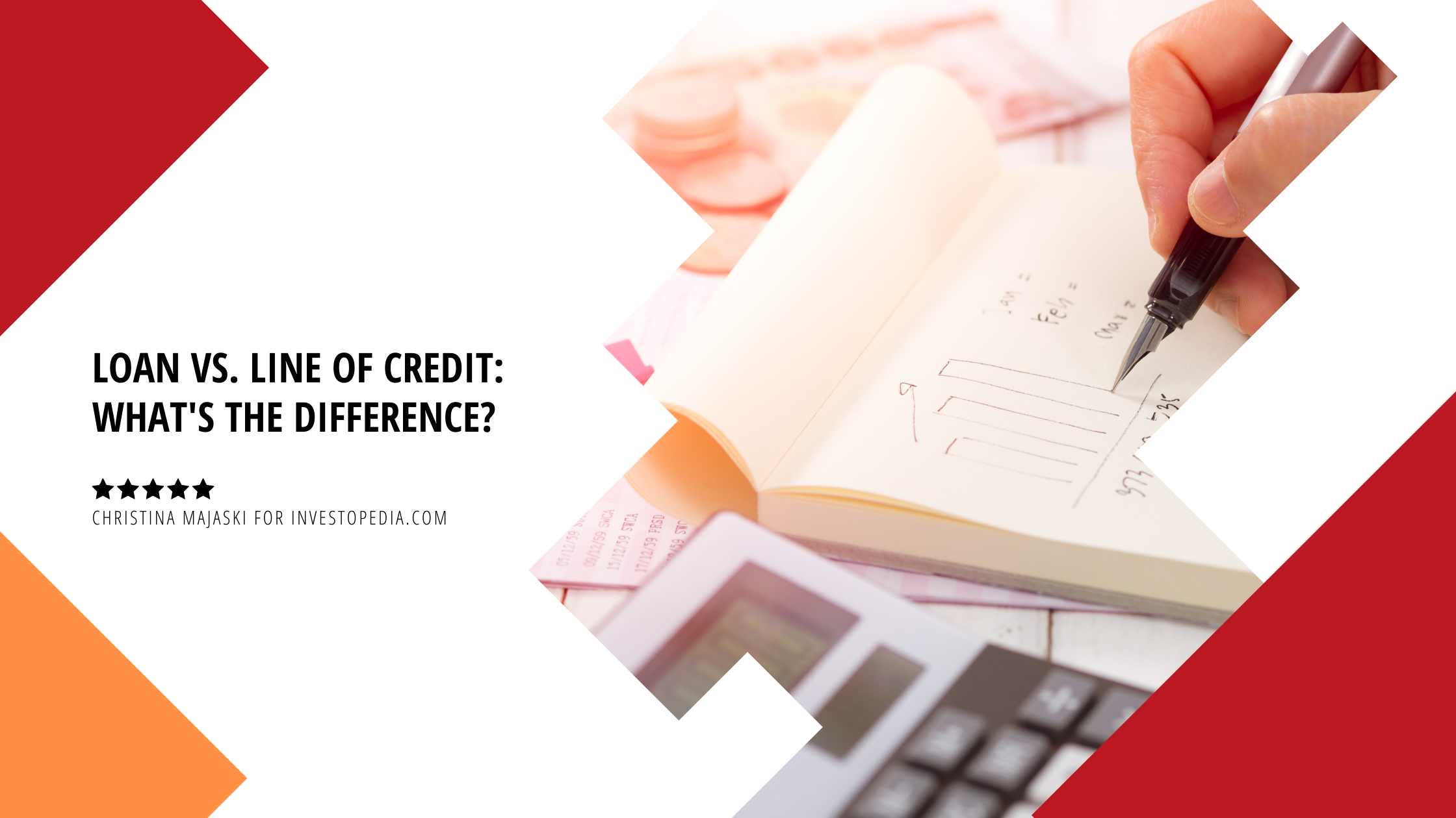 Loan vs. Line of Credit: What's the Difference?