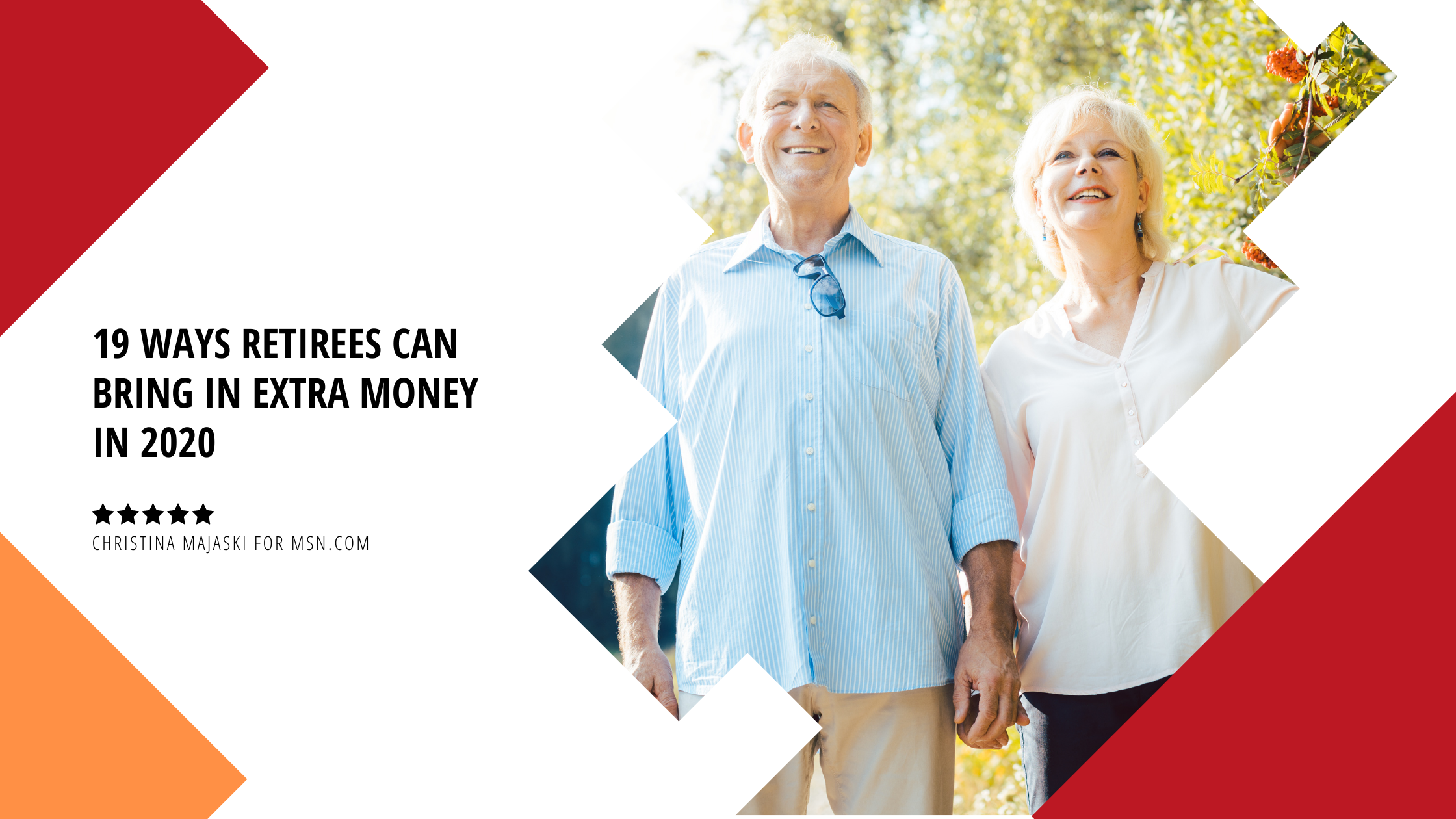 19 Ways Retirees Can Bring in Extra Money in 2020