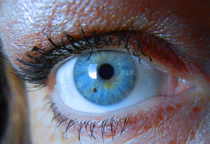 Shawna Coronado Eyeball Self Portrait