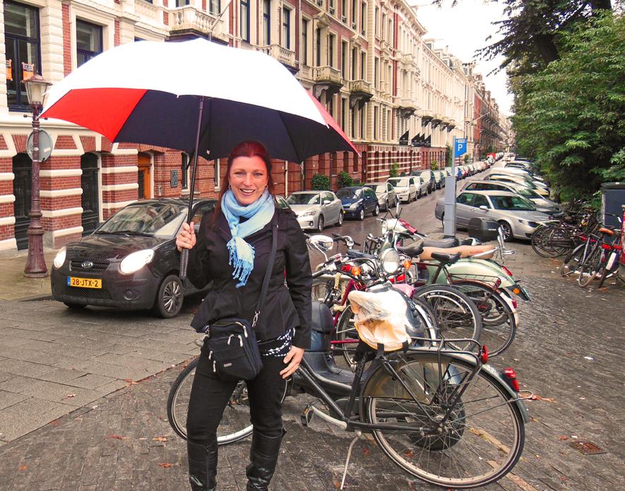 Shawna Coronado in Amsterdam Netherlands Holland