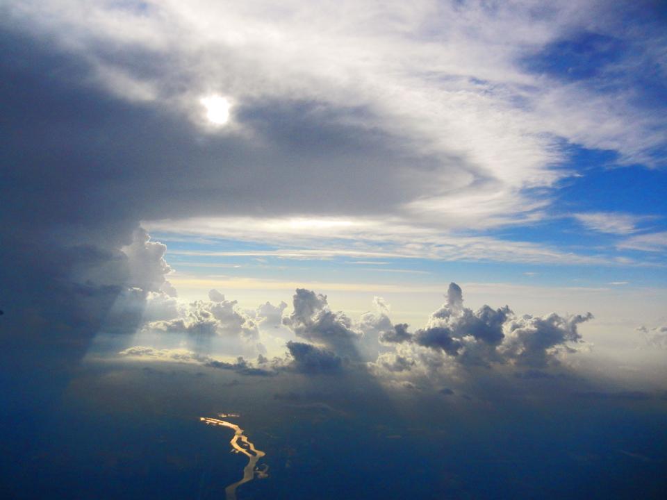 Best photos - Clouds on flight 2 - Travel Adventures