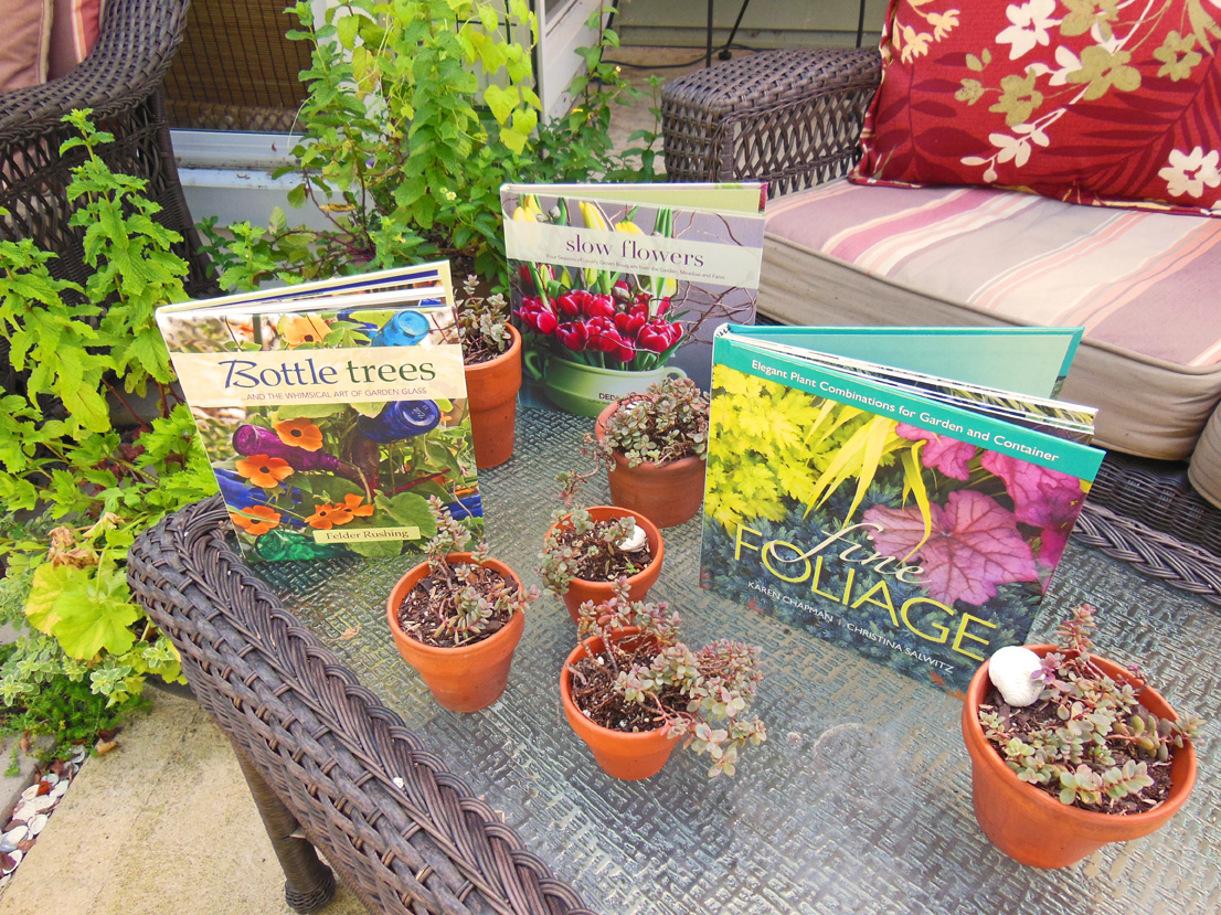 Bottle Tree, Fine Foliage, and Slow Flower Garden Book Give-Away