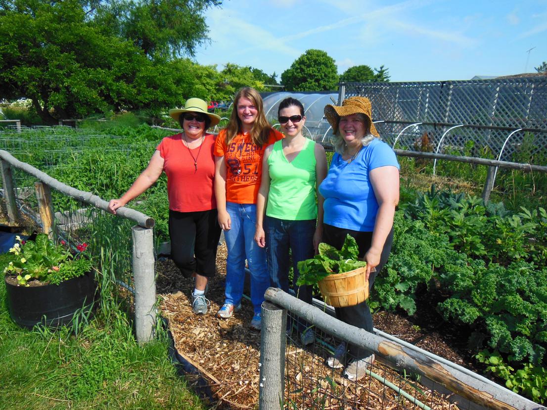 Food Pantry Garden Growing Love in Oswego