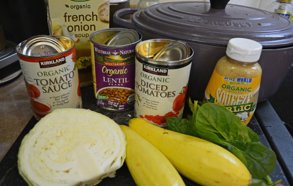 Vegetarian Crockpot Minestrone Soup
