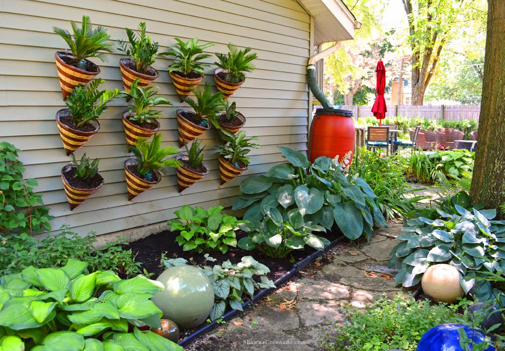 Plants of Steel Living Wall Shade Garden