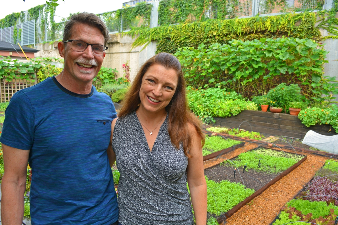 Rick Bayless and Shawna Coronado