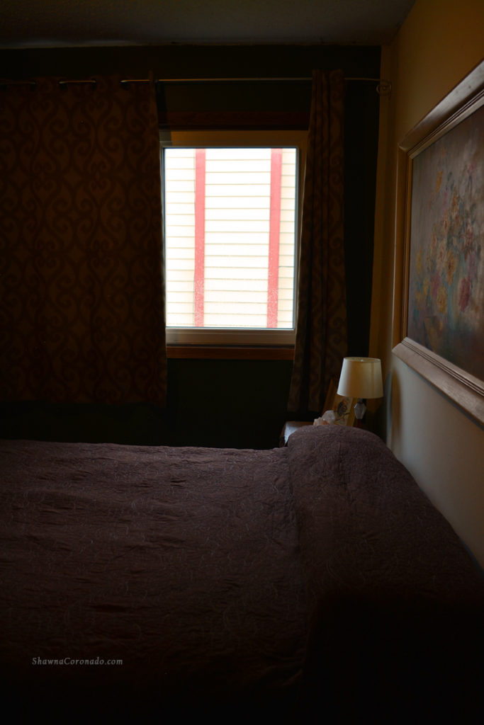 Black out curtains side view in bedroom shawna coronado