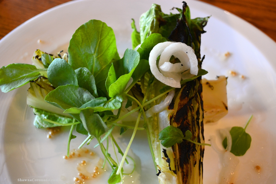 Grilled Romaine Lettuce Salad from Biltmore Estate