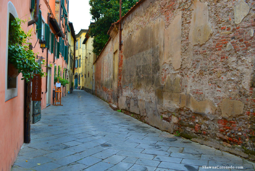 Ristorante at La Corte degli Angeli Lucca Italy