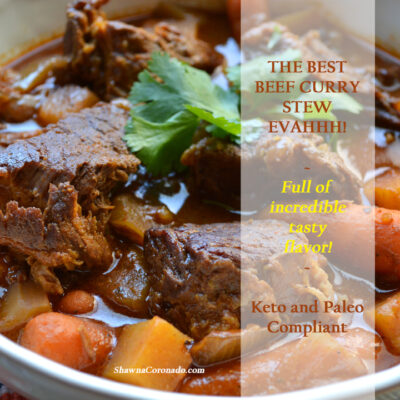 Beef Curry Stew – Small Thanksgiving or Christmas Main Course Recipe