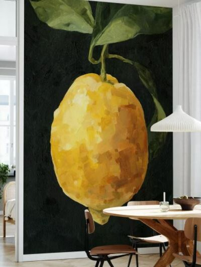 Photowall Lemon design