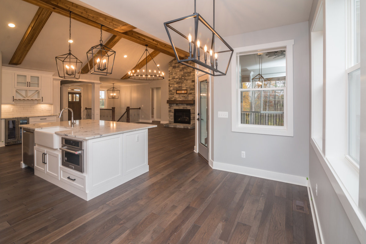 Walkout Custom Ranch with Finished Basement - Kitchen_Island
