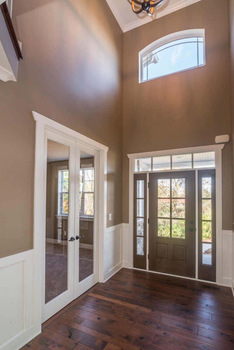 Two Story Custom Craftsman - Interior Entry