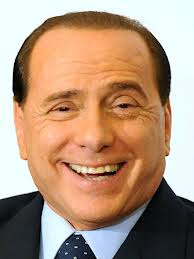 Ital election berlusconi face