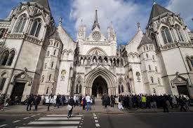 Law Royal Courts panorama