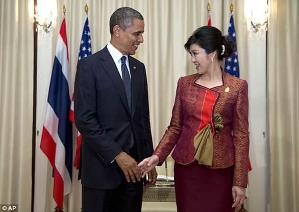 Obama Yingluck
