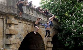 cam jumping in river exams