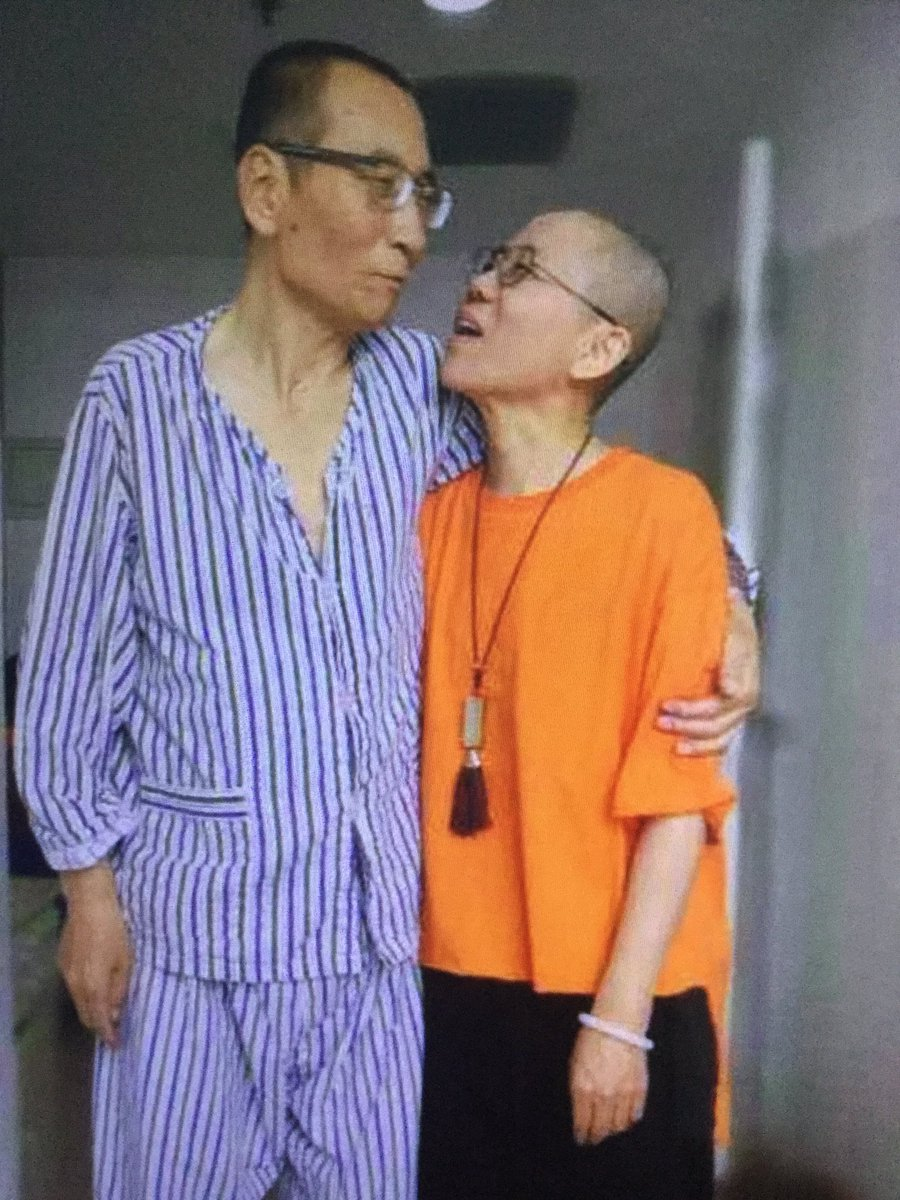 Liu Xiaobo & wife 0717