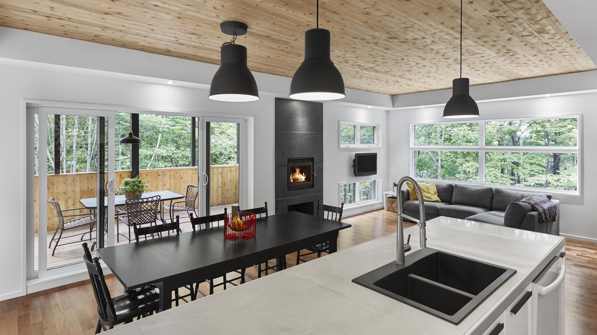 cuisine moderne, constructions lafco