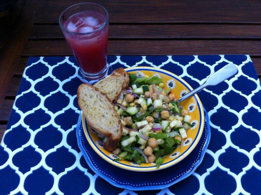 Corn-zucchini-salad-meal